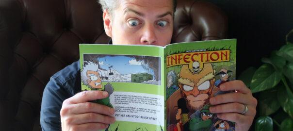 Casper Sand læser Infection